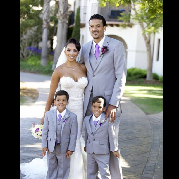 Matt-Barnes-Gloria-Govan-twins