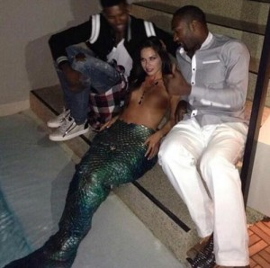 Gilbert-Arenas-mermaid-Nick-Young
