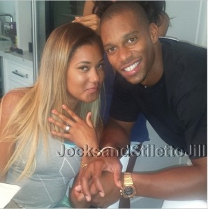 Victor-Cruz-Elaina-wately-engaged