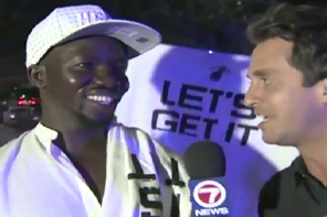 Miami Heat Fan Curses Live On Air With Reporter