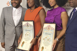 MLK Community Health Foundation Honors Susan Kelechi Watson and KCBS' Pat Harvey