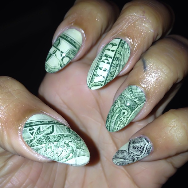 Stiletto Nail Art 2013: Fashion Glance: Nail Art; Lala, Khloe Kardashian, Draya