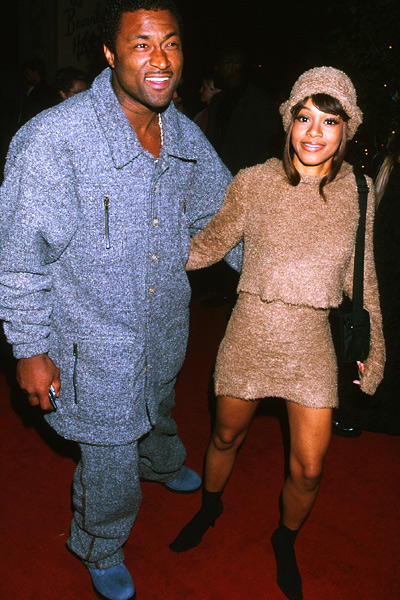 Throwbacks: Jocks love R&B chicks; Left Eye & Andre Rison ...