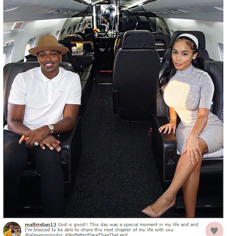 Tristan Thompson's Dad Wants Him Back With His Pregnant Ex ...